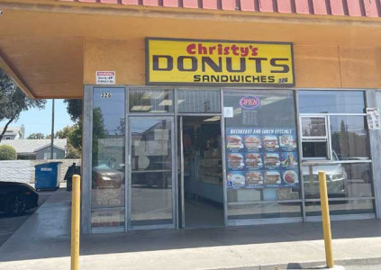 Christy's Donuts Sandwiches